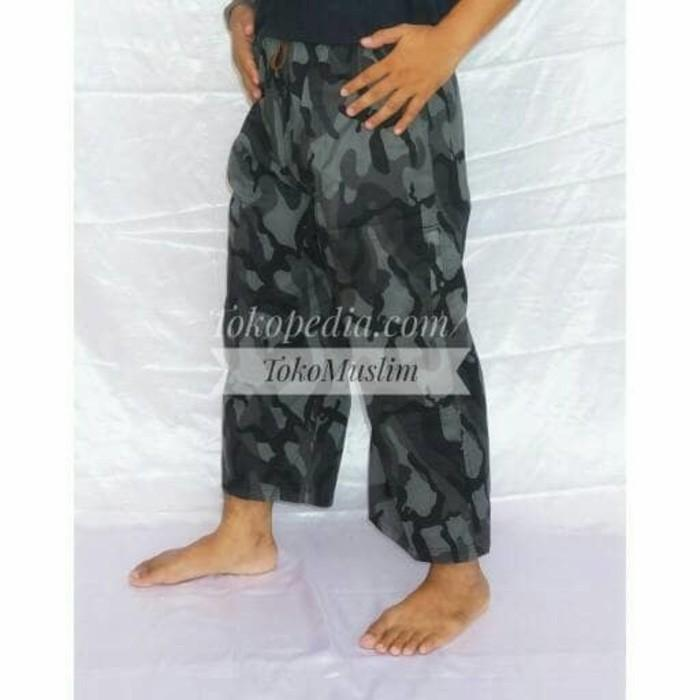 Celana Trendy Premium Resleting Motif Loreng/Tentara/Army - Gqw91i
