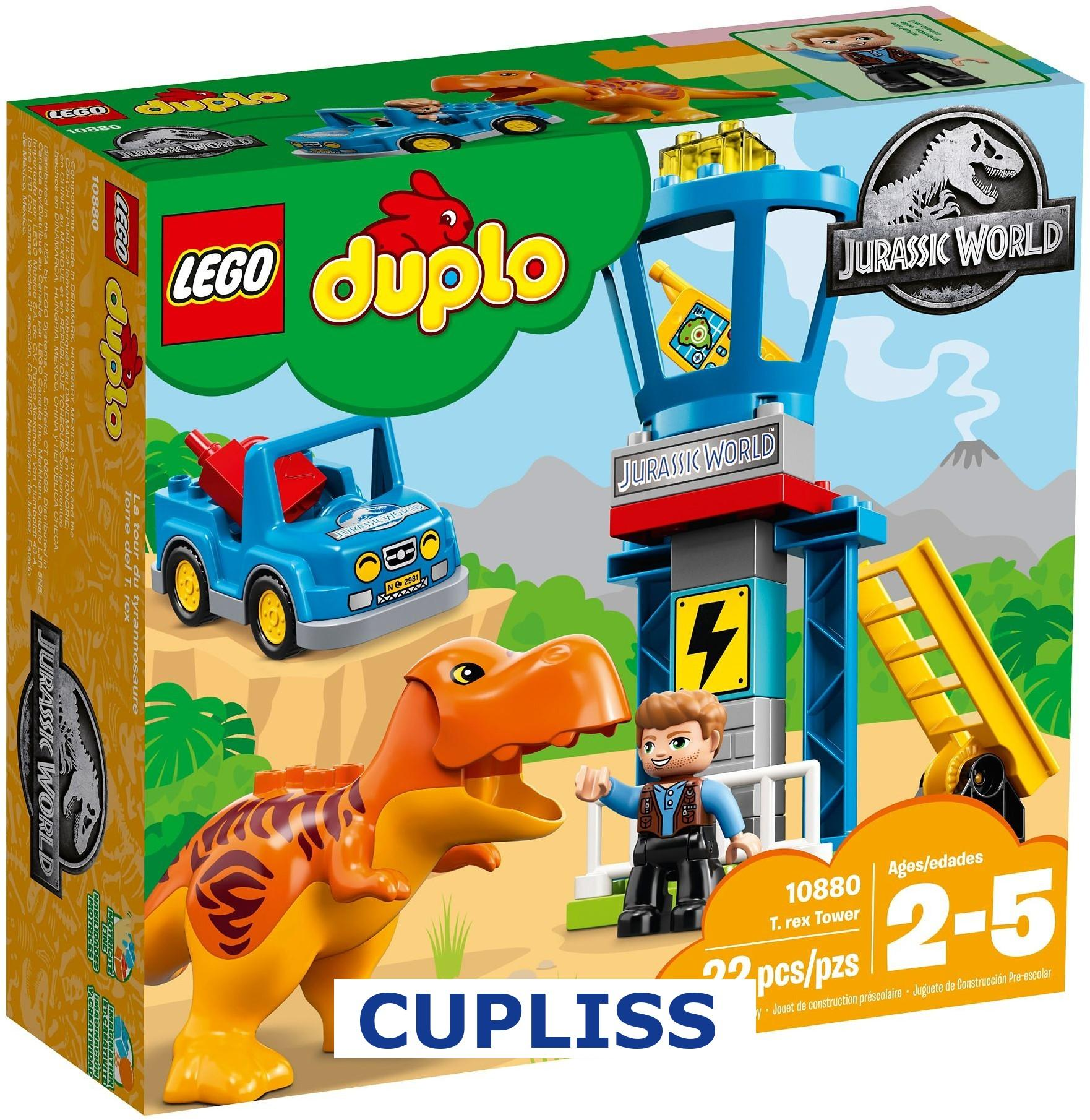 Buy Sell Cheapest Lego Duplo 10592 Best Quality Product Deals 5682 Fire Truck 10880 T Rex Tower