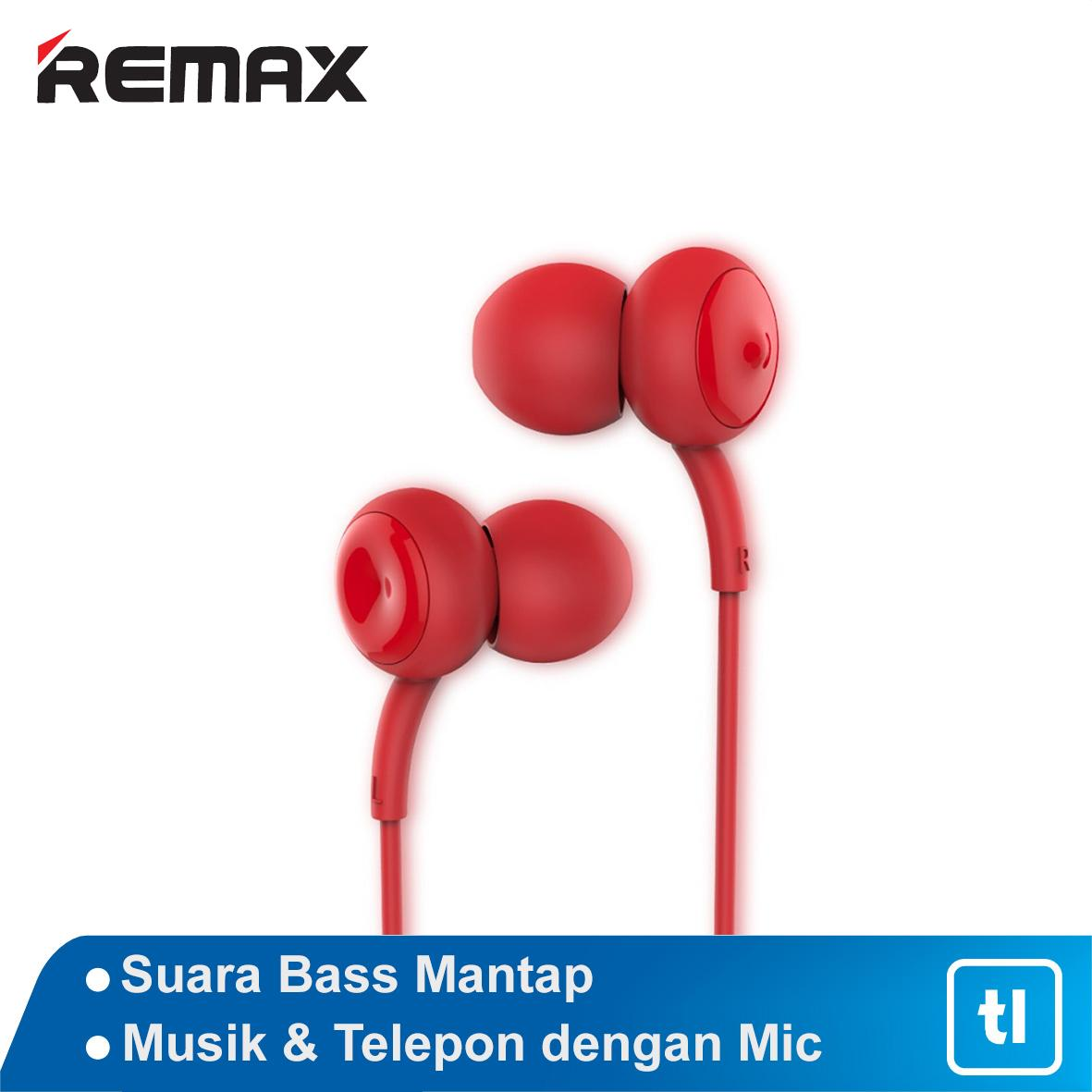Remax Touch Music Wired Headset Earphone RM 510 HD Microphone Garansi Resmi / Earphone Murah /