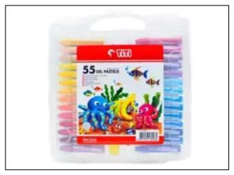 Review Of Pewarna Krayon Titi Crayon Titi Oil Pastel 55 Warna