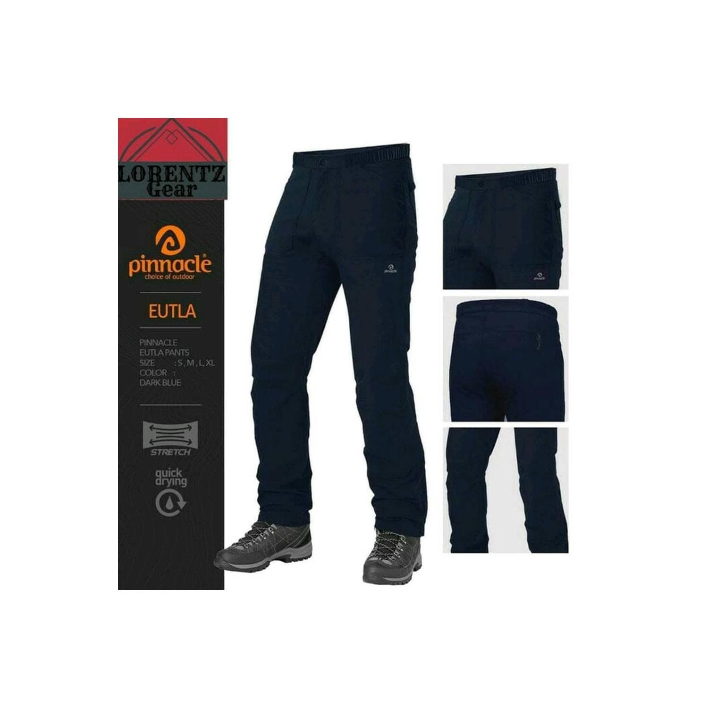 Celana Panjang Pinnacle Eutla Celana Quickdry Stretch Long Pants