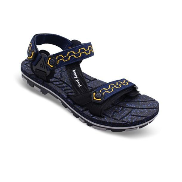 HOMYPED NABIRE 02 Sandal Gunung Black/Navy
