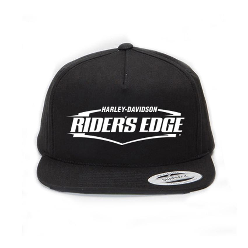 7e99a8be42f41 SaifnStore Topi Snapback Harley Davidson Riders Edge White - Black Premium
