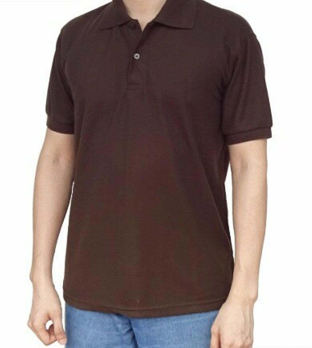 Kaos Polo / Polo Lacoste / Polo Shirt Cotton Pique - Cokelat