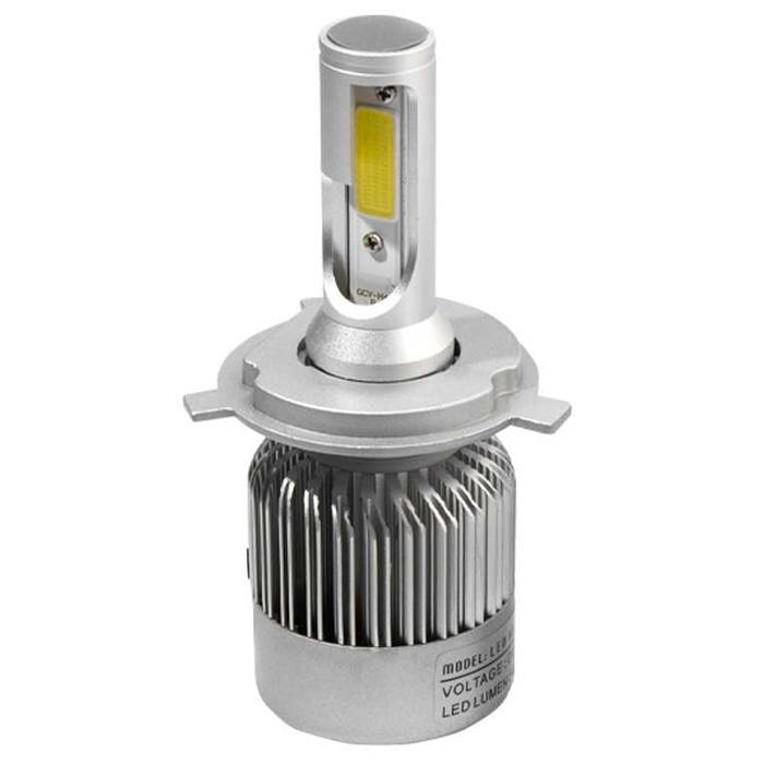 Lampu Mobil LED H4 2 COB 2PCS