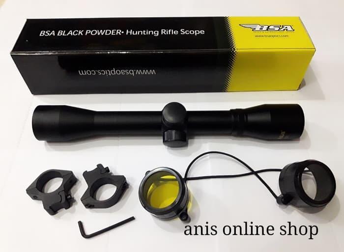 Tele BSA 4x32 Black powder - Oe5c6H