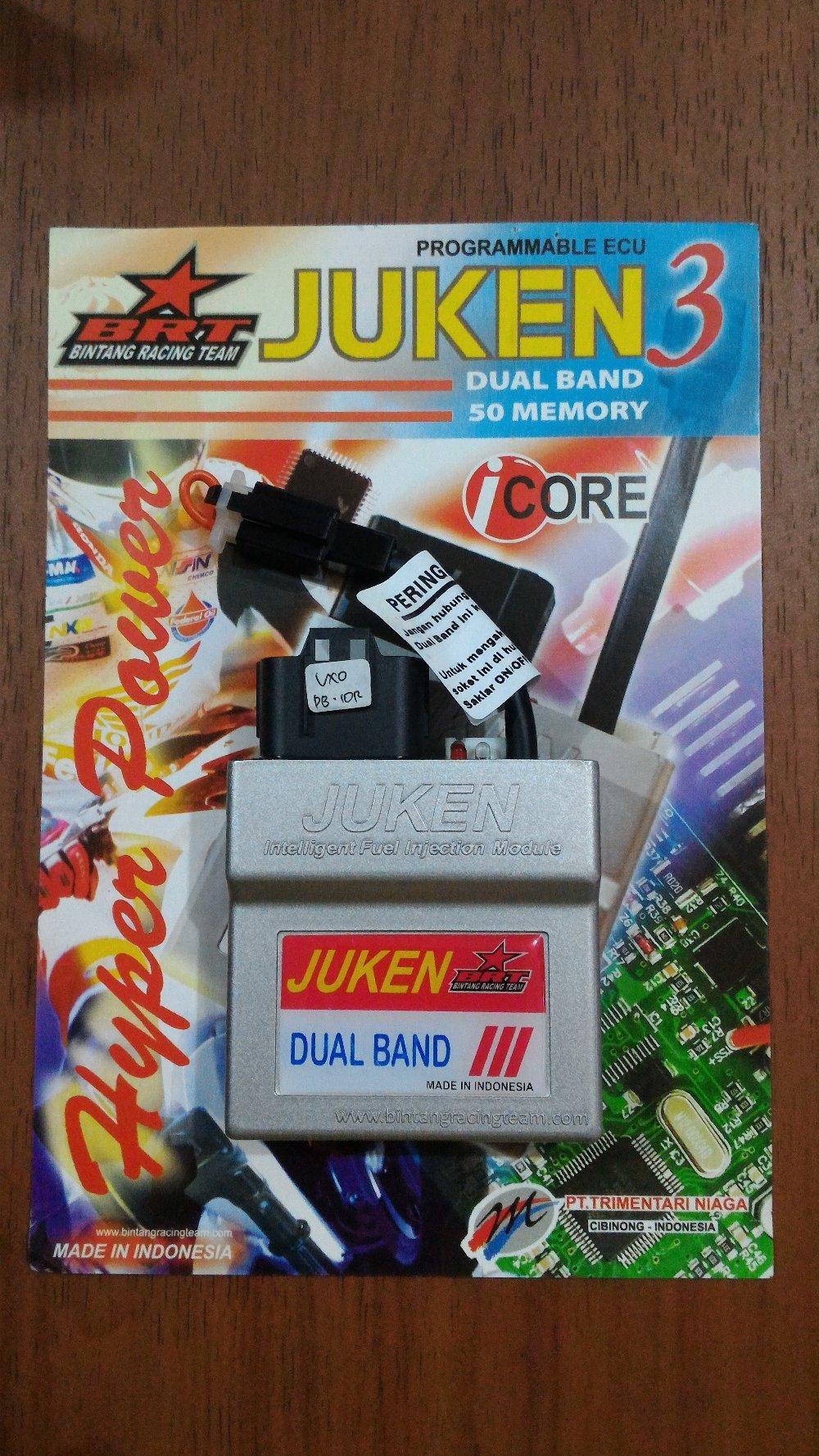 ECU Juken 3 Vixion Old Dualband BRT aksesoris otomotif