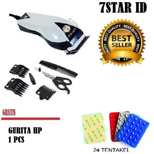Happy King 7STAR 906 Alat Cukur Rambut Hair Clipper Trimmer Mesin Potong  Professional Groomer 3 Mata 0dfe54f96c