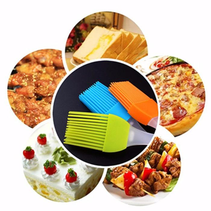 Food Brush Silicone Cake - Kuas Roti Barbeque - Kuas Mentega -