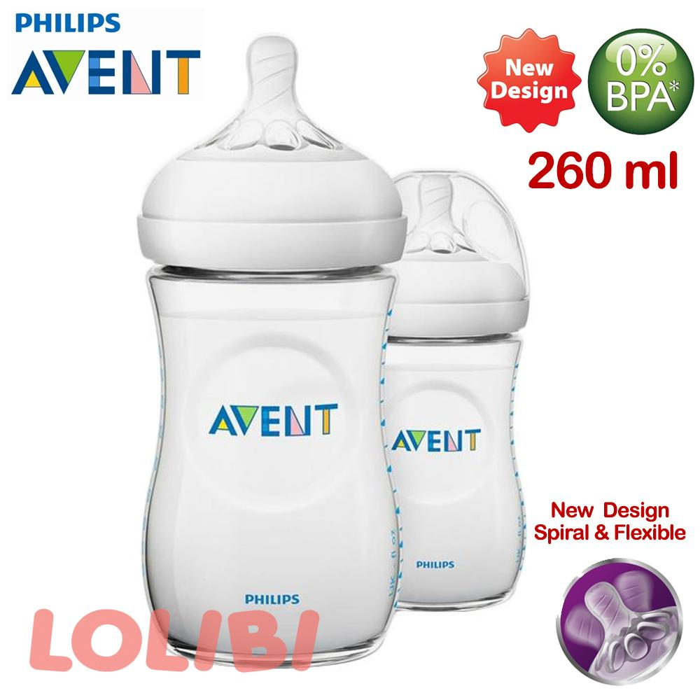 Philips Avent Natural 2.0 Botol Susu Bayi 260ml Twin Pack