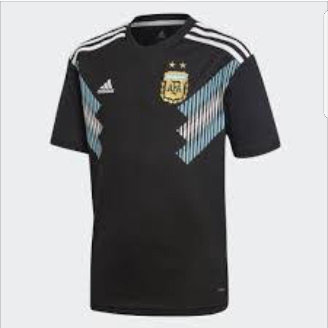 DMXS - Jersey Bola Timnas Argentina Away Piala Dunia 2018