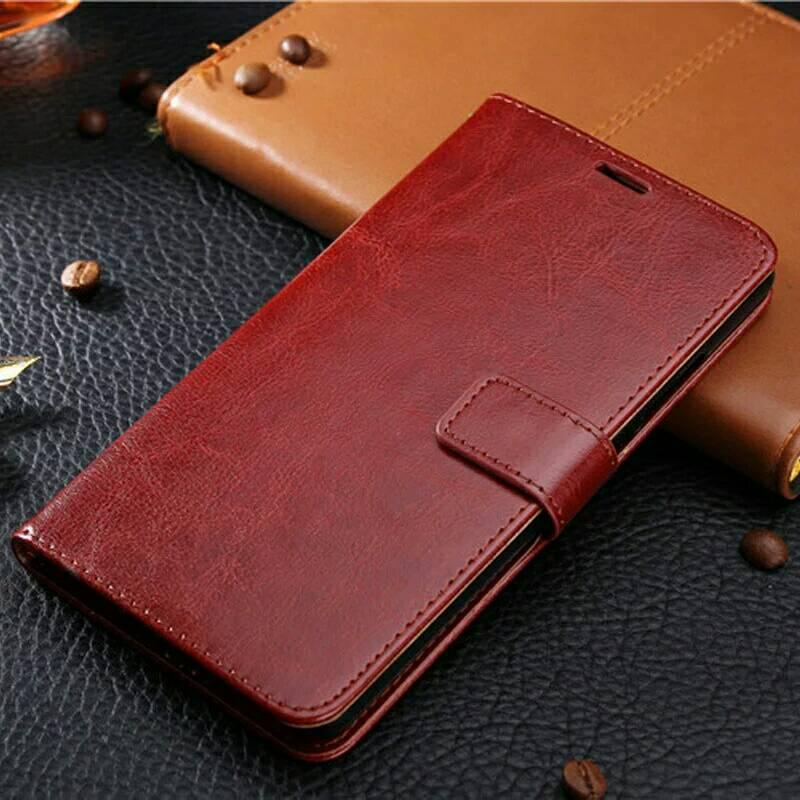 PROMO Leather FLIP COVER WALLET iPhone 5 5s SE 6 6s 6+ 7 7+ Plus Case Casing