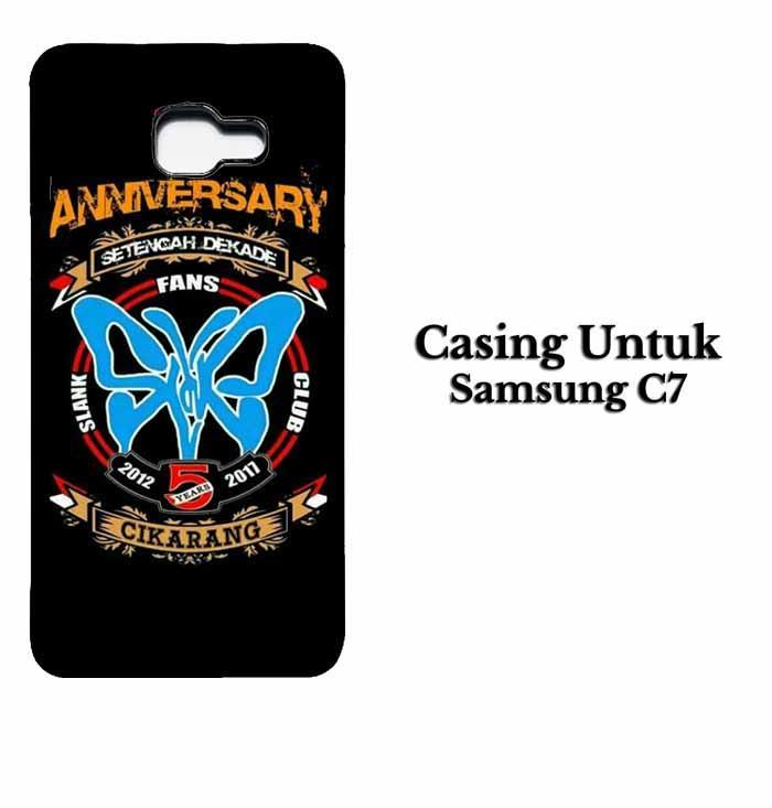 Casing SAMSUNG C7 SLANK CIKARANG Hardcase Custom Case Se7enstores