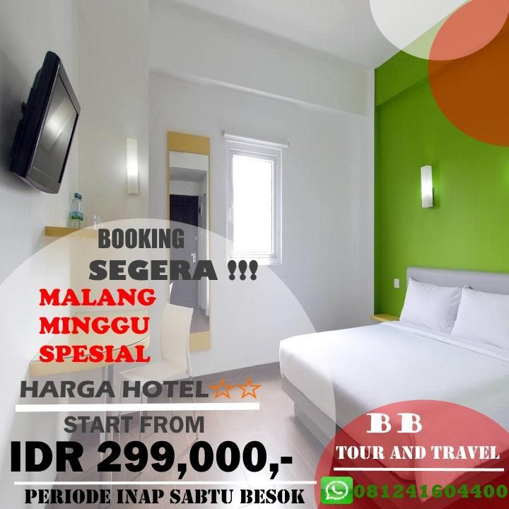Promo Murah Hotel Bintang 2 di malang