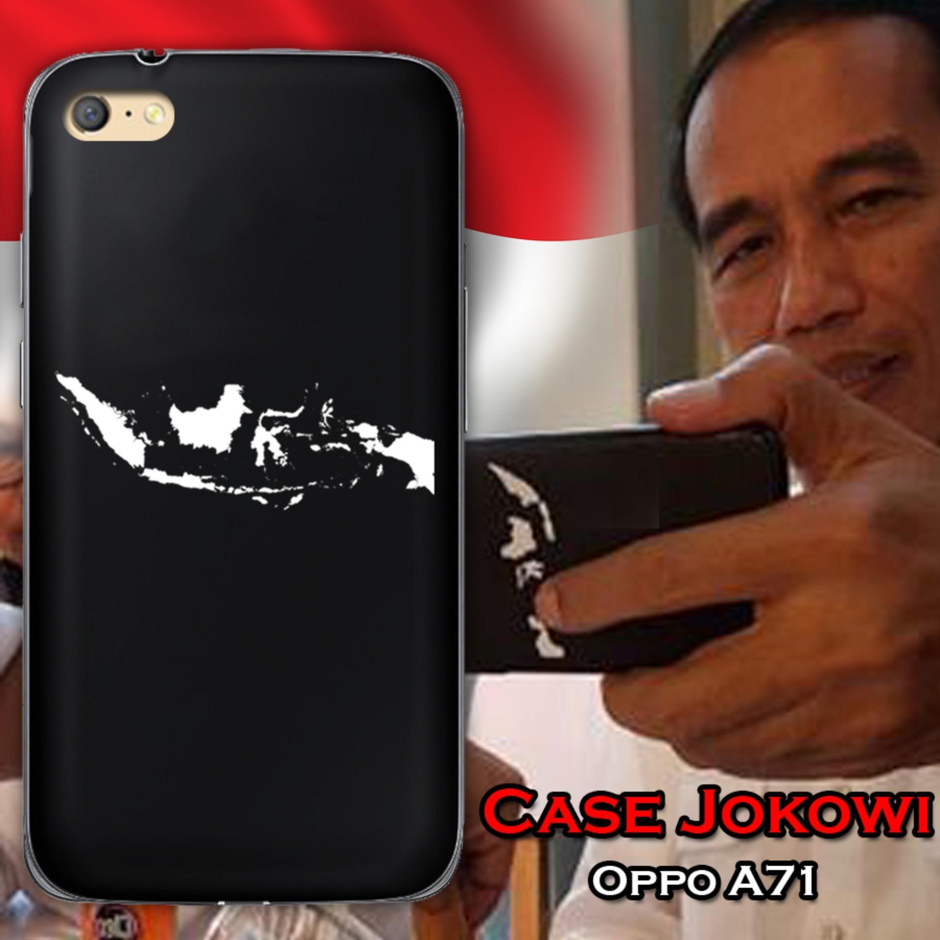 Case Presiden Jokowi for Oppo A71 - Hitam