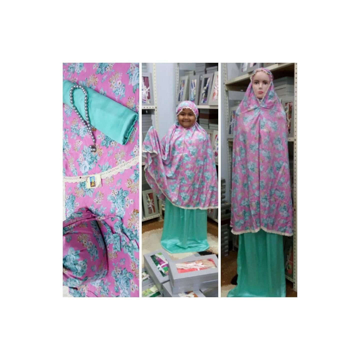 Mukena Silky Poeti Couple Ibu dan Anak (MP20)