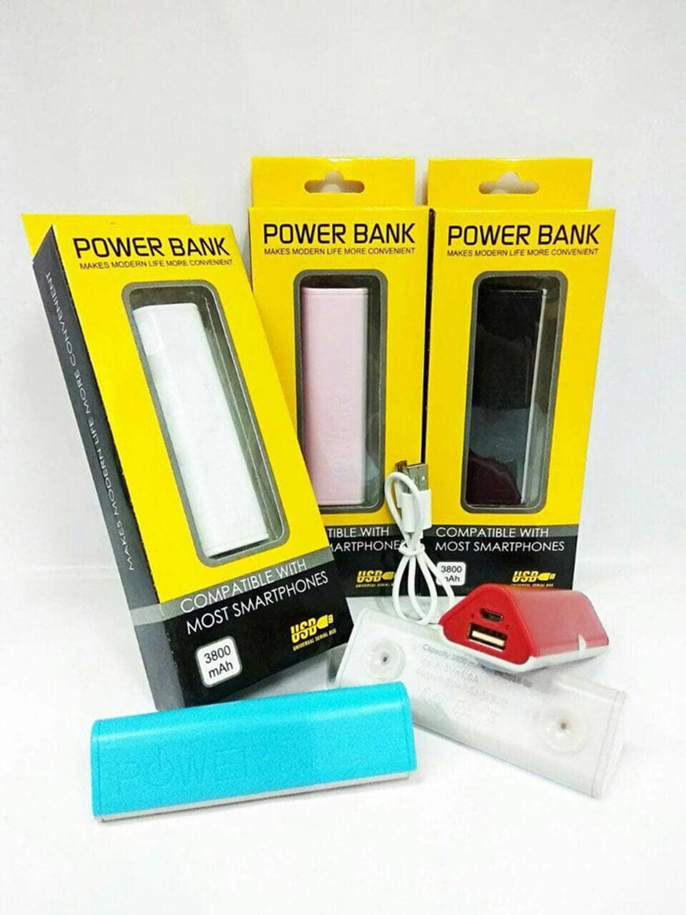 Rp 79.000. Powerbank Segi Tiga Vacum Candy Power Bank Mini WarnaIDR79000. Rp 80.000. Delcell 4000mAh Powerbank TWEE Real Capacity Fast Charging Small ...