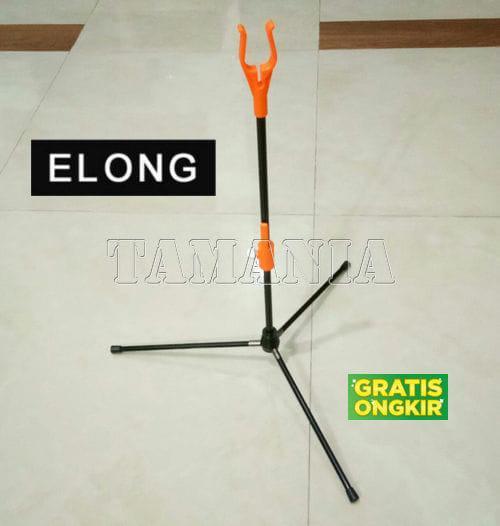BOW STAND ELONG - ORANGE - Tripod Dudukan Busur Panah - 3FyyMC