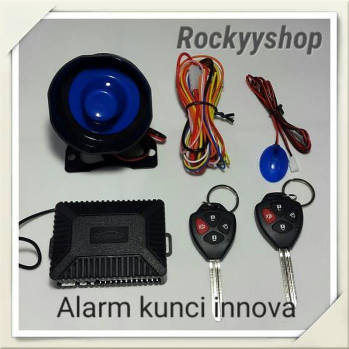 Promo  paket alarm model kunci innova+central lock kompit 4 pintu  Original