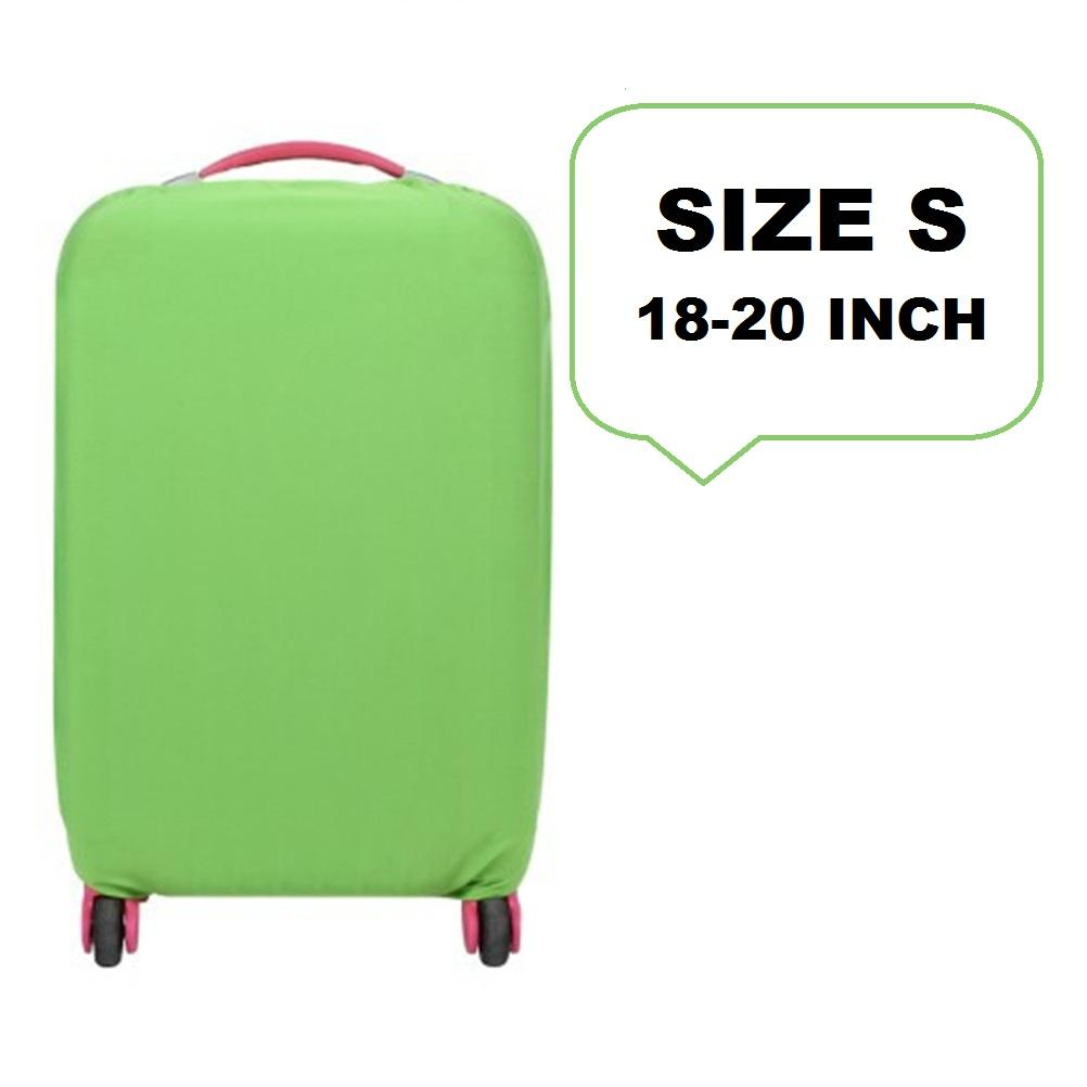 FIRST PROJECT - Sarung Pelindung Koper Elastis Polos Luggage Cover  Protector Elastic Suitcase S for 18 d0b4b42597