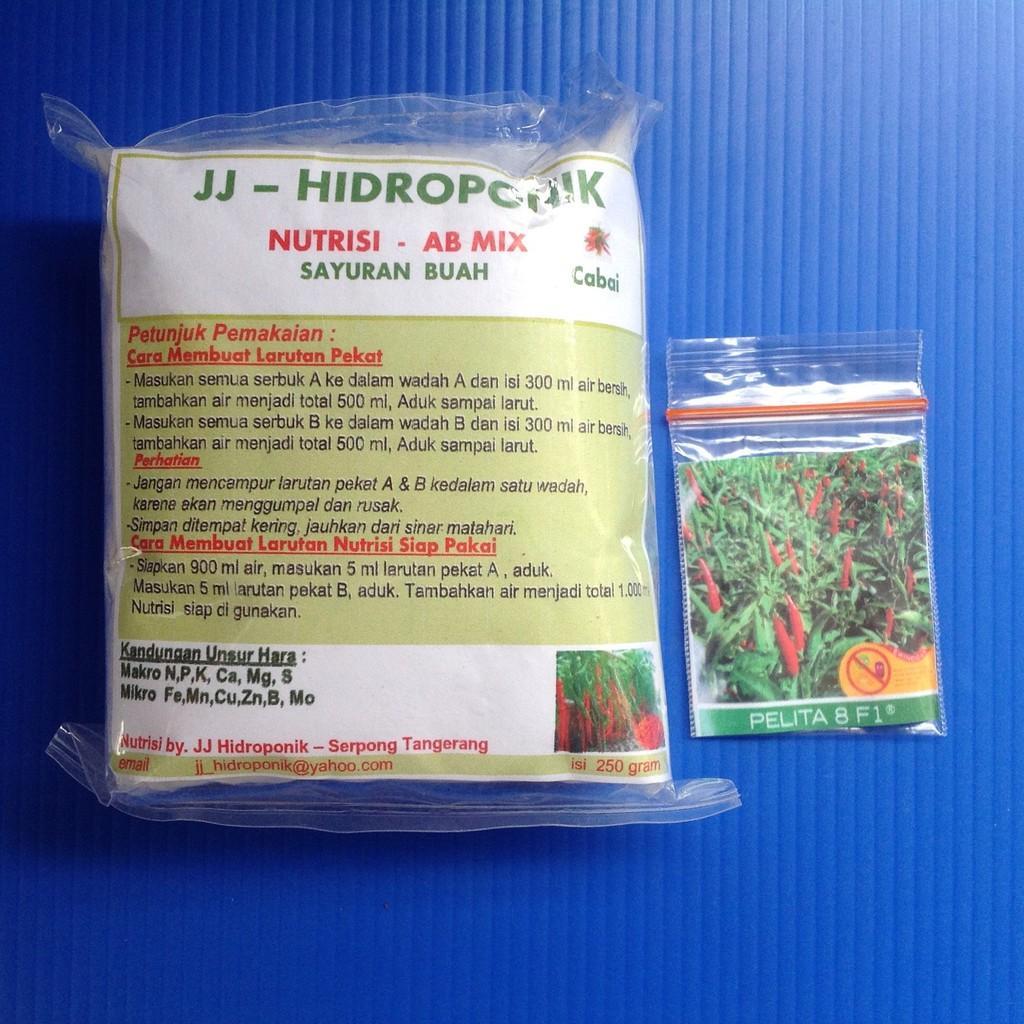 Buy Sell Cheapest Nutrisi Ab Mix Best Quality Product Deals Paket Benih Hidroponik Tanaman Buah Cabe Dan