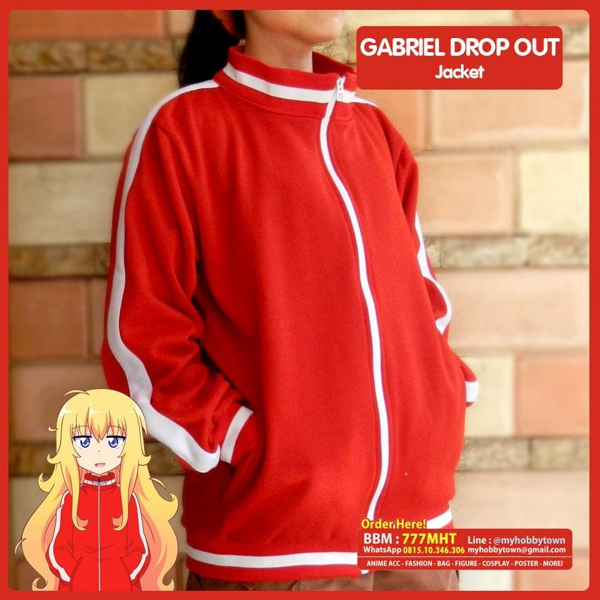 Jaket Anime - GABRIEL DROP OUT - Tenma Gabriel - Bomber Jacket