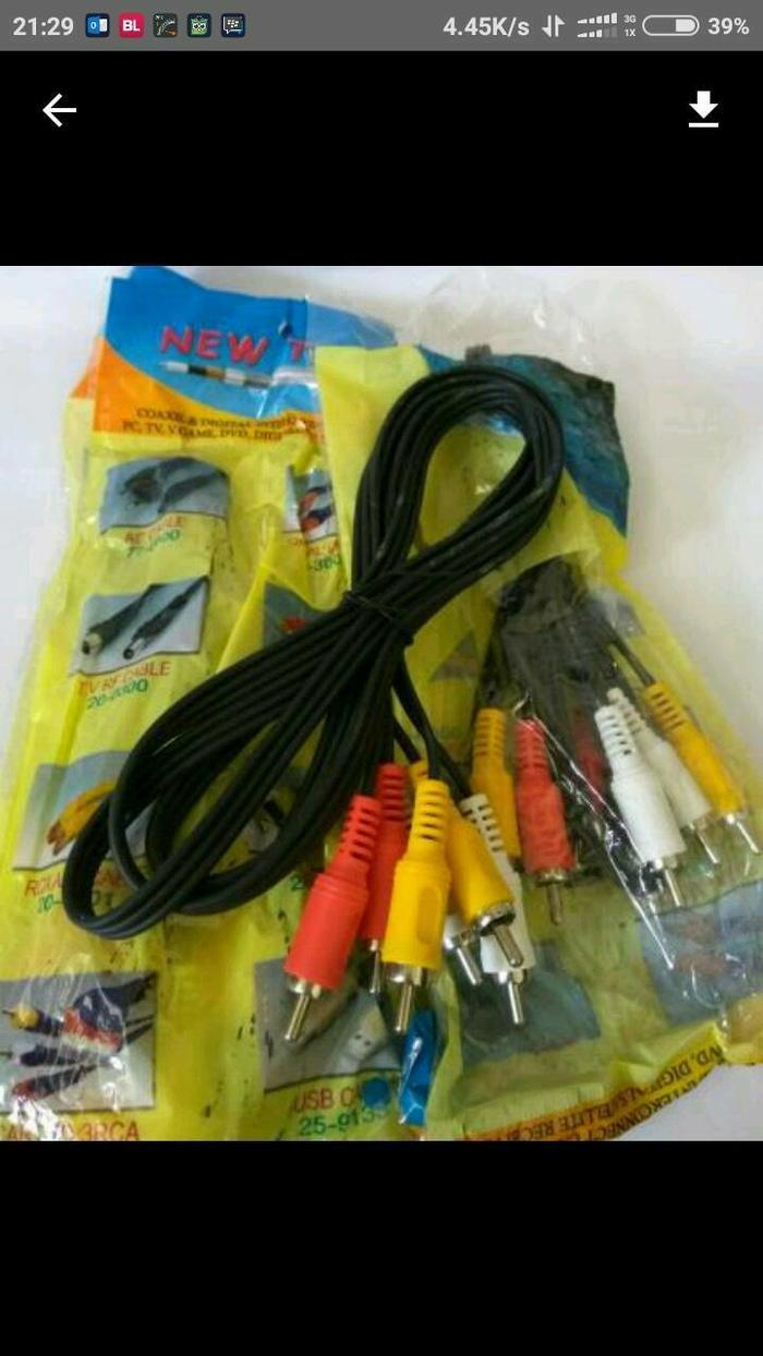 Kabel AV RCA 1.5M