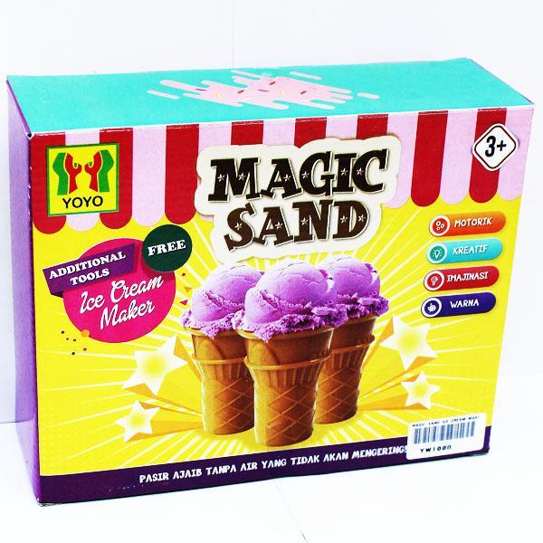 Momo Toys Magic Sand Ice Cream Maker Mainan Pasir Dan Cetakan Mainan Anak Mainan Edukasi Mainan Pasir Anak By Momo Baby Shop.