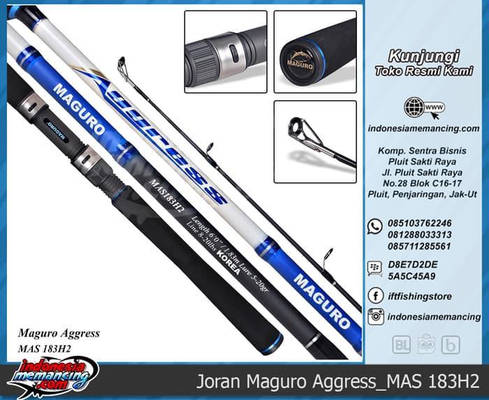SALE - Joran Spinning Maguro  Aggress 183H2  Original