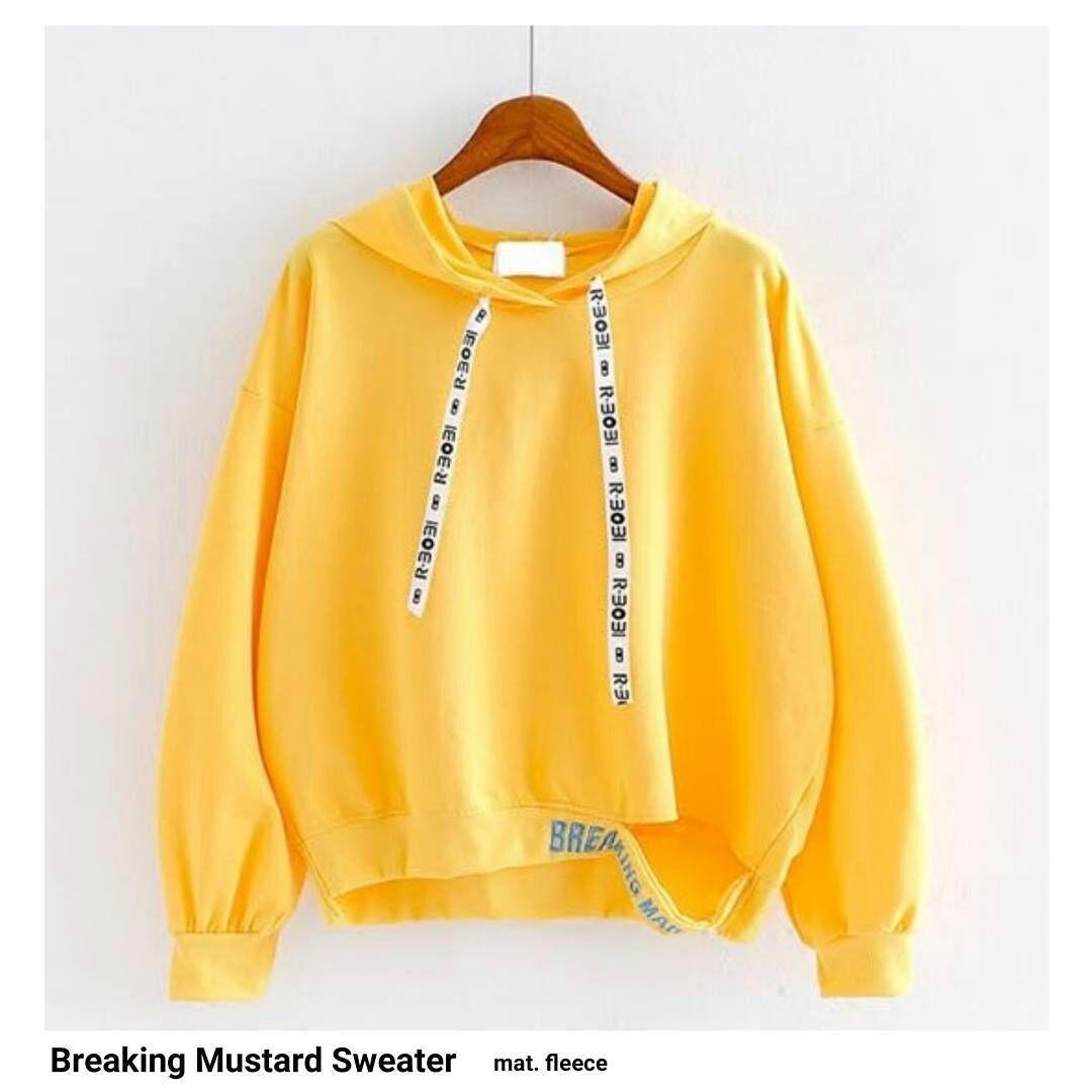 Buy Sell Cheapest Hoodieku Stripped Crewneck Best Quality Product Jumper Maroon L Sweater Breaking Hoodie Wanita