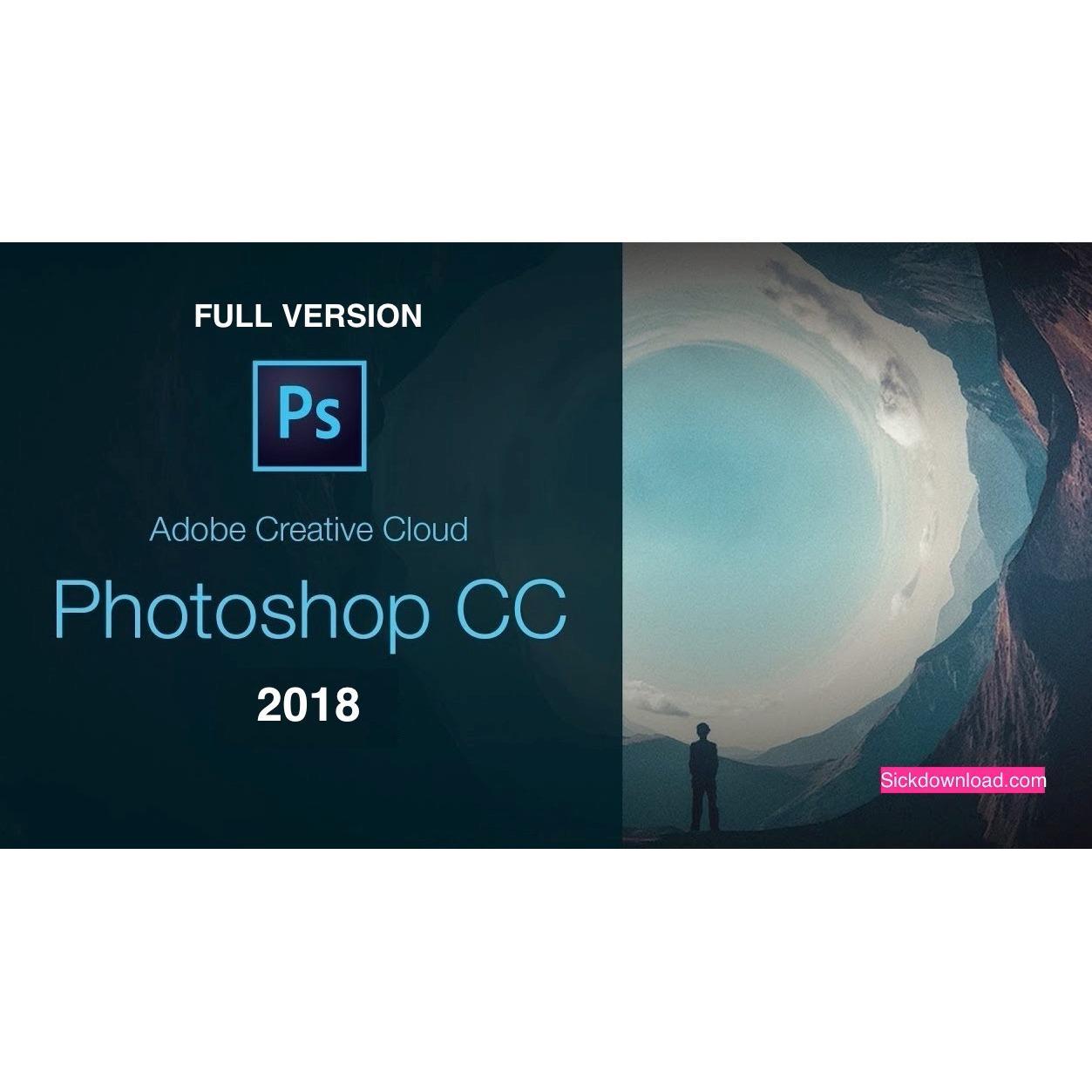 ADOBE PHOTOSHOP CC 2018 + FULL TUTORIAL + FULL BRUST