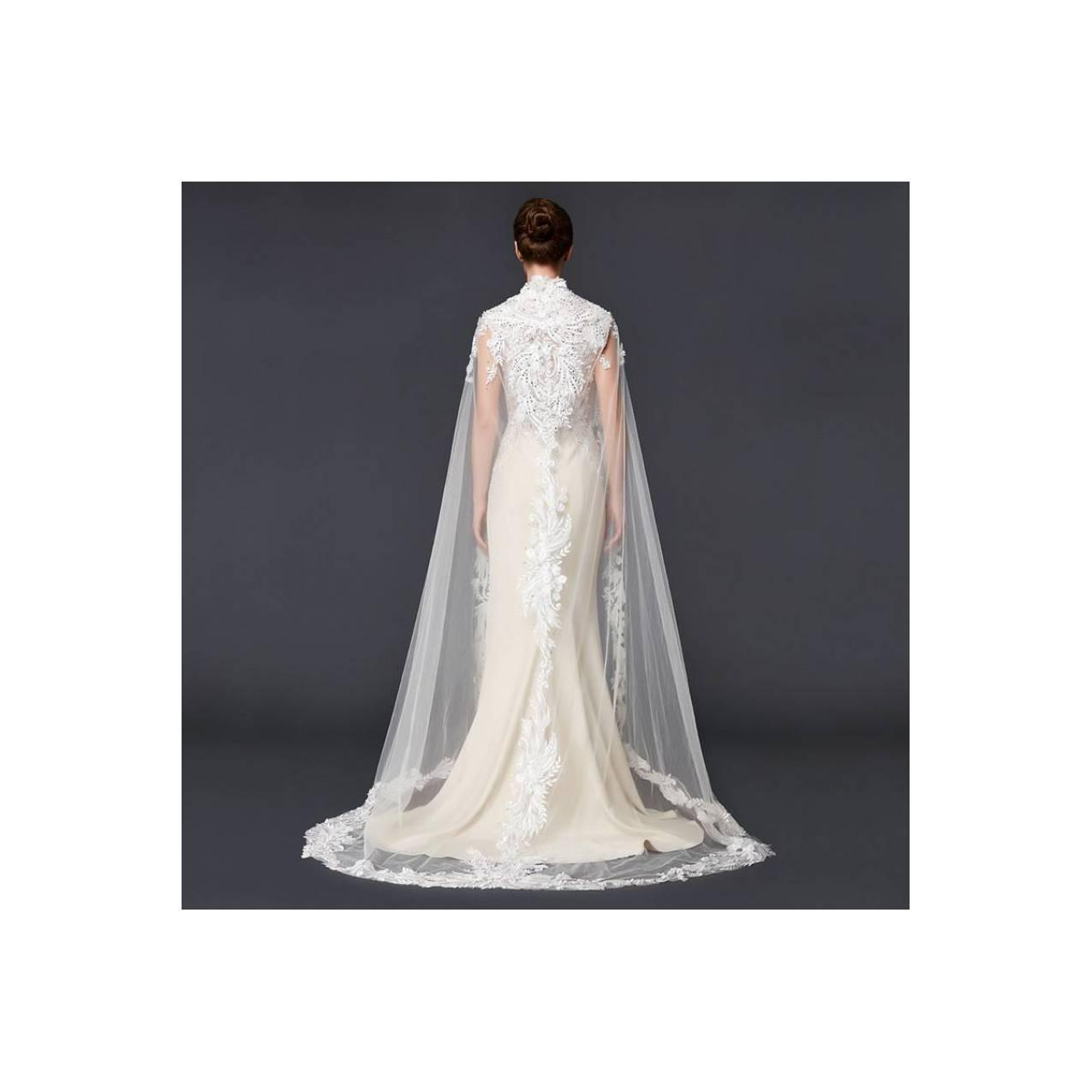TS K725 S140 Gaun Kebaya Modern Gaun Pengantin Wedding Muslim Import