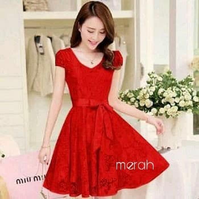 Honeyclothing Dress Wanita Eliva Biru - Daftar Harga Terlengkap ... e09b1ab6ec