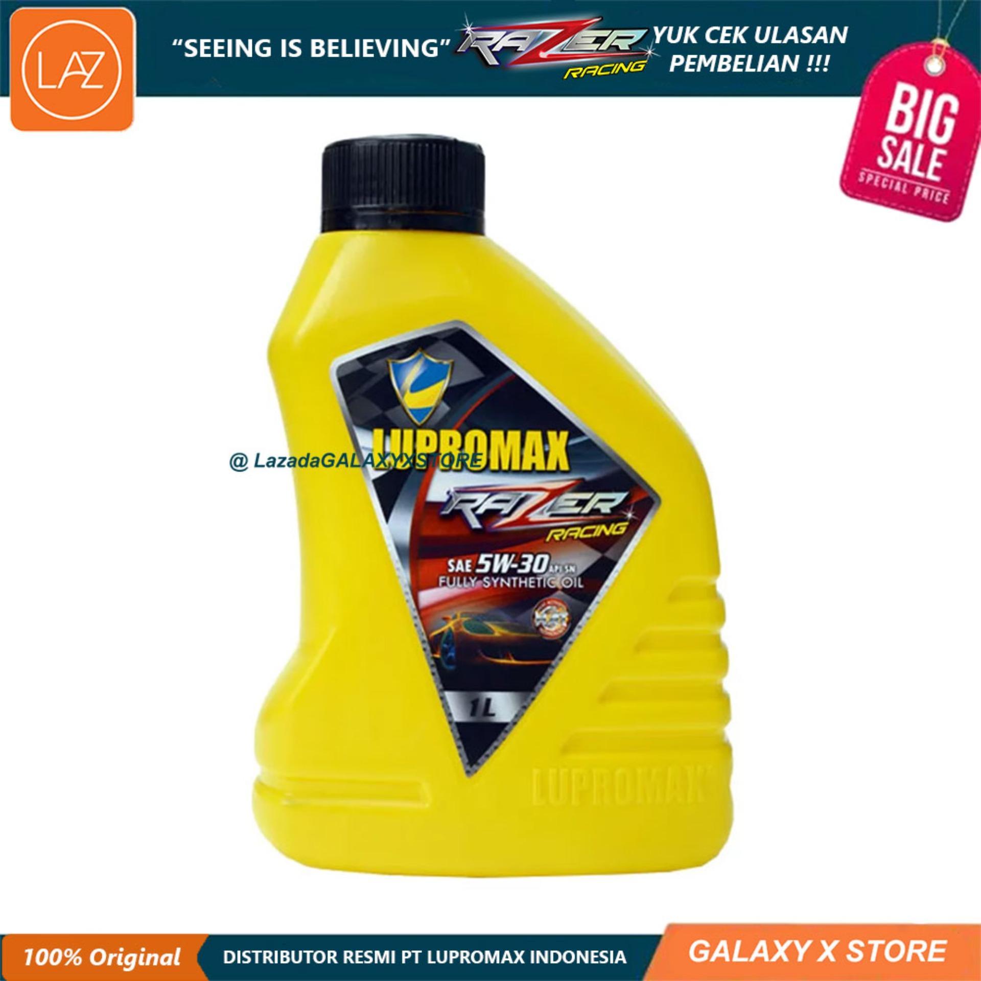Lupromax Razer Racing 5W30 API SN Oli Mobil - 1 Liter Otomotif Minyak Pelumas Oli