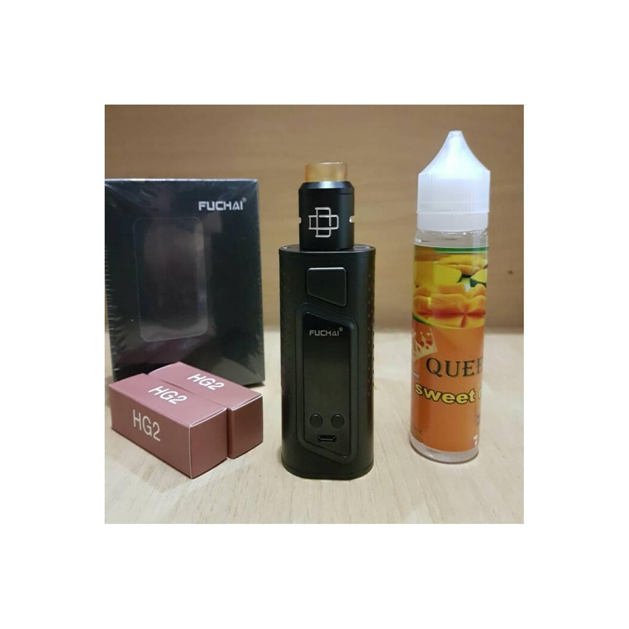 Buy Sell Cheapest Promo Hemat Siap Best Quality Product Deals Solder Paket Mod Fuchai Duo Kit Rda Lengkap Ngebul Vaporizer