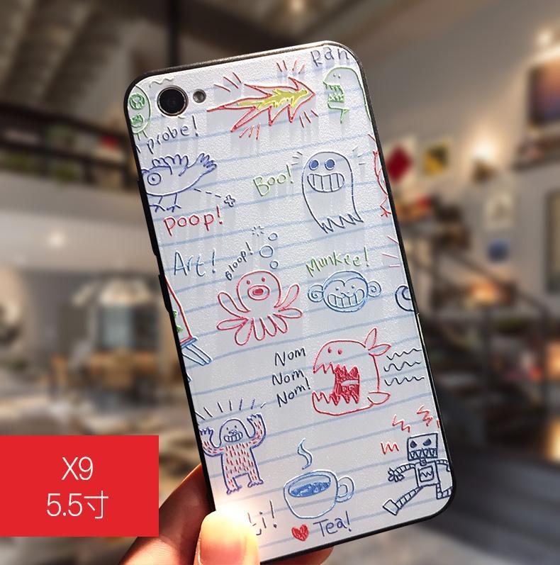 Vivo X9 Casing HP Model Wanita X7 BBK Vivo X9s Casing Silikon Anti Jatuh Soft Imut