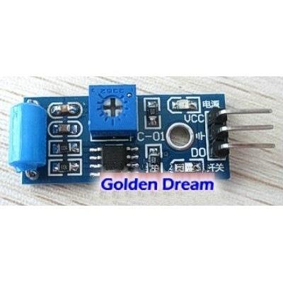 Sensor getaran untuk alarm motor mobil gempa bumi maling module SW 420 tipe NC