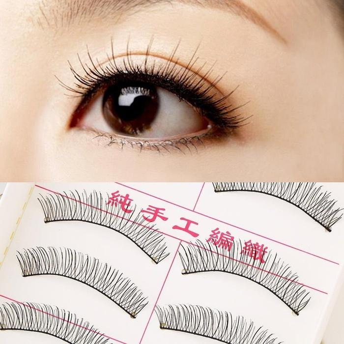 Bulu Mata Natural Cindy 10 Pasang Ringan Halus Eye Lashes Make Up MakeUp Made in Taiwan