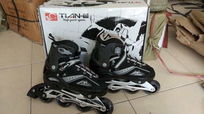 Sedang Diskon!! Sepatu Roda Anak Tiane Inline Skate Terbaru Roda Bajaj Full Karet - ready stock