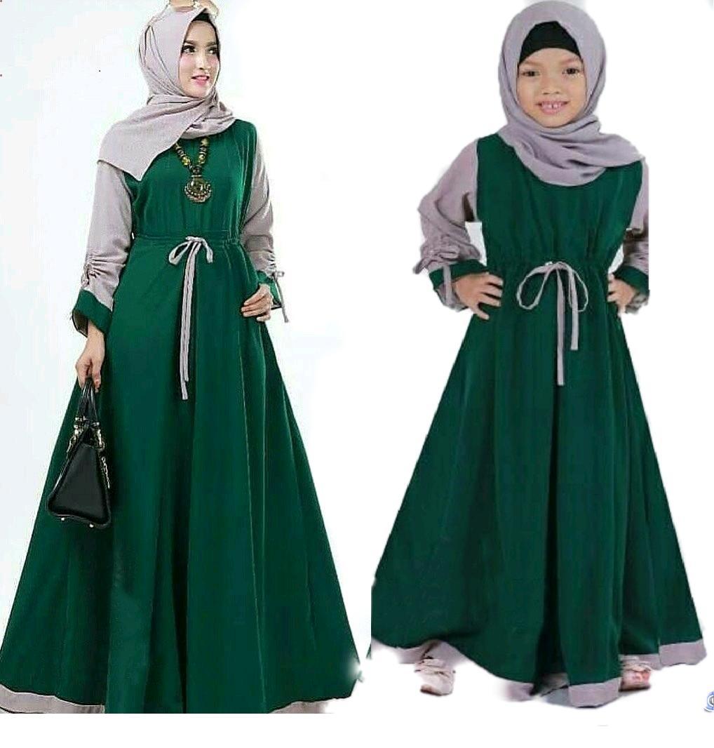 baju muslim / couple ibu anak