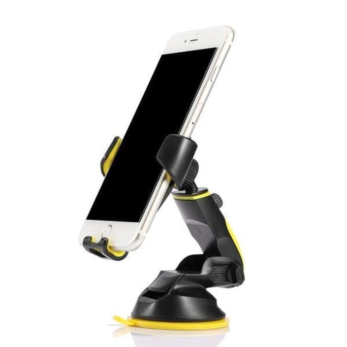 PROMO Vivan Car Mount HP Phone Charger Stand Holder Mobil Universal - CHS04 TERBARU