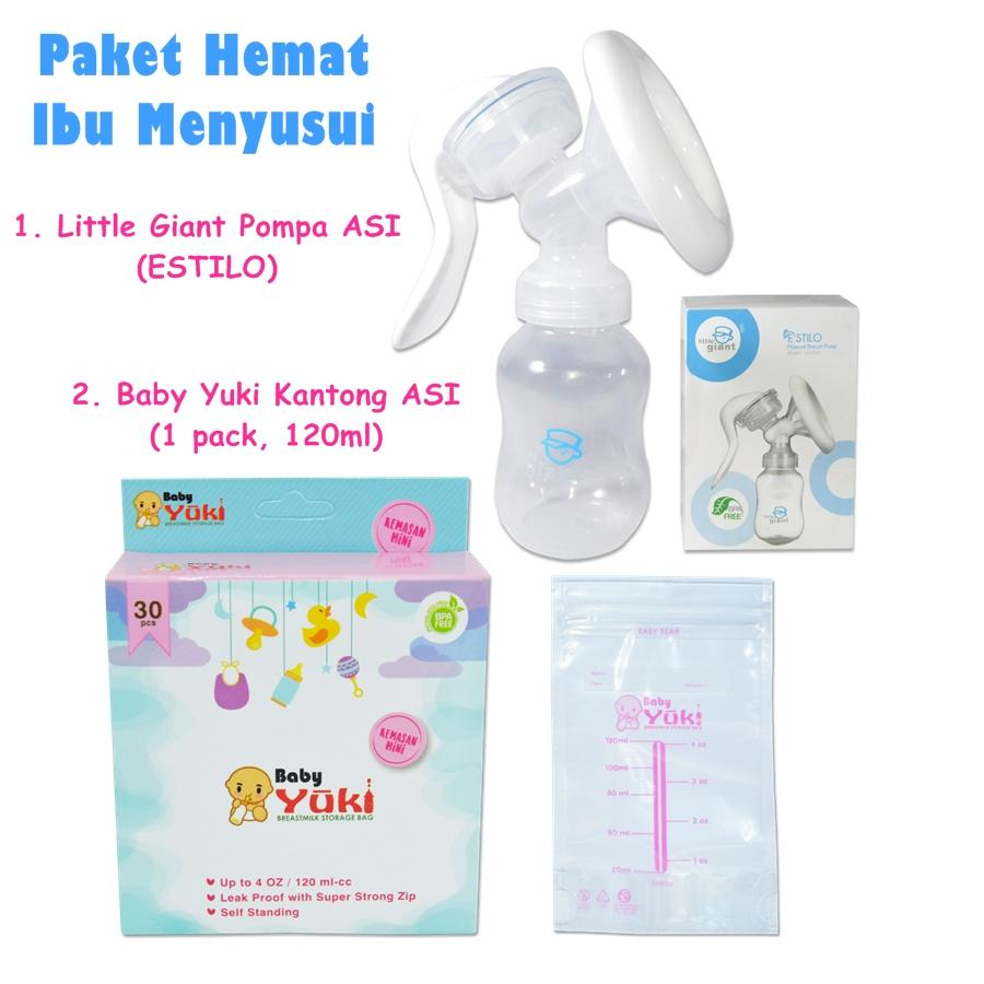 Jual Produk Yuki Online Terbaru Di Springbed Matras Premium Paket Hemat Kantong Asi 120ml Little Giant Estilo Breast Pump Pompa