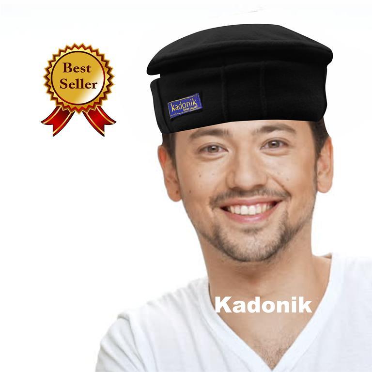 Paling Laris - Kadonik Peci / Songkok Modern / Kopiah Songkok / Peci Songkok Tidak Panas Di Kepala- Premium Quality Harag Promo By Kadonik.