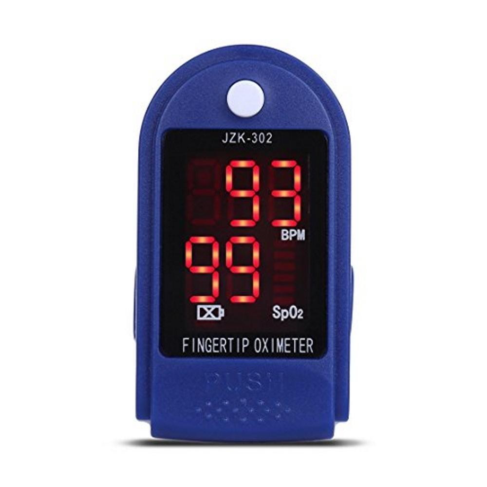 Oximeter Pengukur Detak Jantung Lazada Tensimeter Digital Tensi Meter Alat Ukur Tekanan Darah Tangan Nadi Bion Pulse Spo2 Heart Rate 302 Led Biru