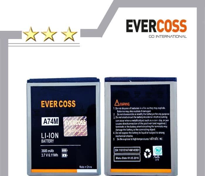 baterai batre HP Cross Evercoss A74M Winner T2 A 74m Original oem