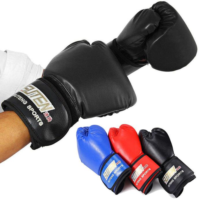 ORIGINAL!!! Boxing gloves training sarung tinju MMA glove original SUTENG SUTEN  - iD0US5