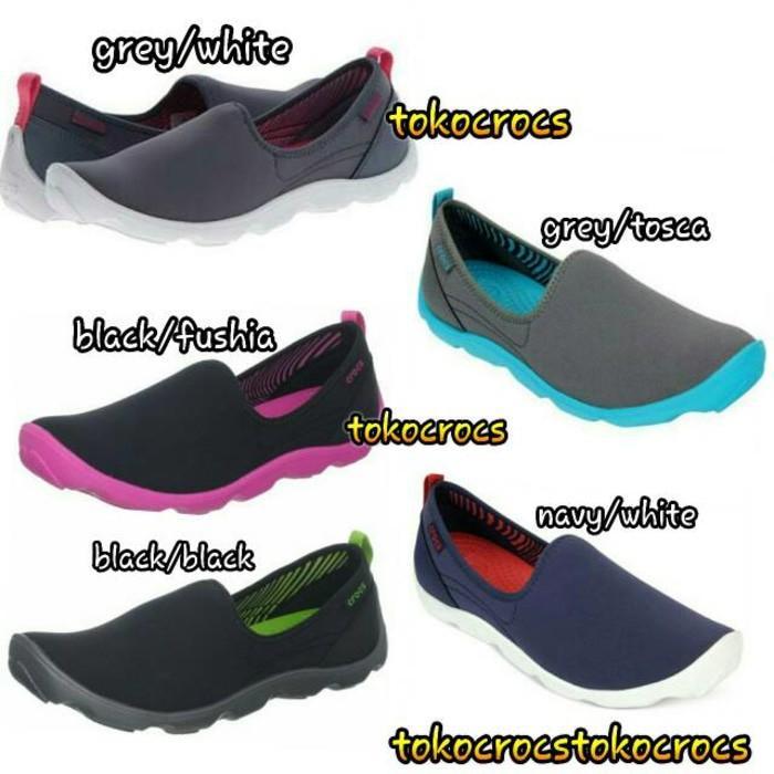 Promo Duet Skimmer Flat / Sepatu Crocs Wanita Gratis Ongkir