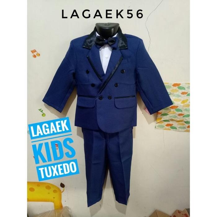 ... baju pesta anak cowok. Source · GEMES Jas Anak Premium 4in1 Blue Navy Convero usia 1 2 3 4 Tahun/tuxedo