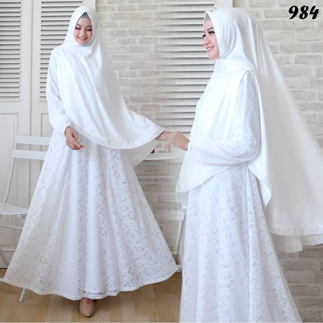 Daftar Harga Gamis Putih Polos Terbaru Januari 2019 Blog Gado Gado