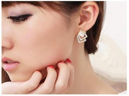 PROMO SAAT INI anting mutiara korea elegan women pearl fashion earrings jan116 TERLARIS